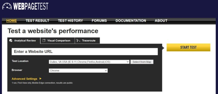 The SEO Expert's Guide to Web Performance Using WebPageTest