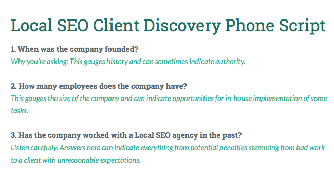 The Local SEO Agency's Complete Guide to Client Discovery and Onboarding