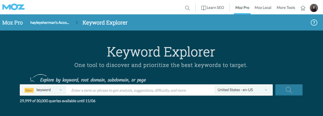 How to Use Keyword Explorer to Identify Competitive Keyword Opportunities