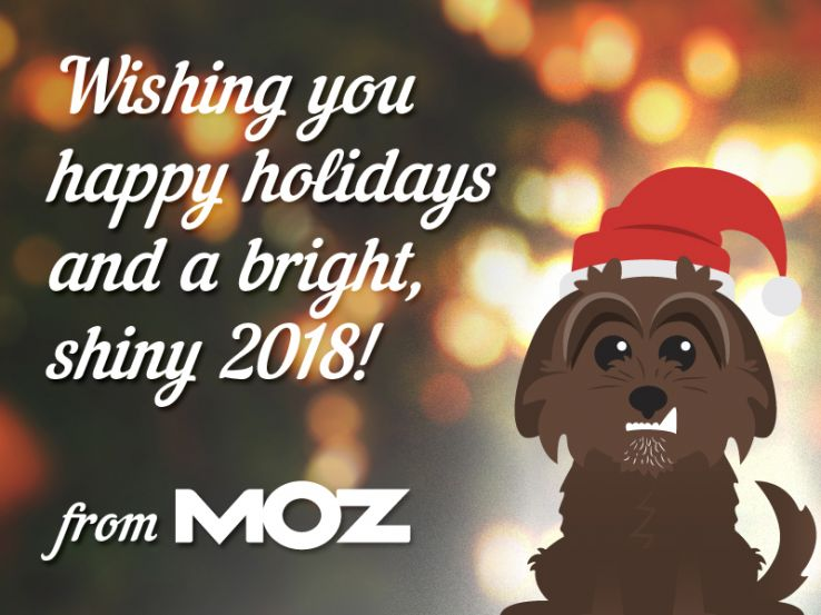 Mozzy Good Wishes to You & Yours!