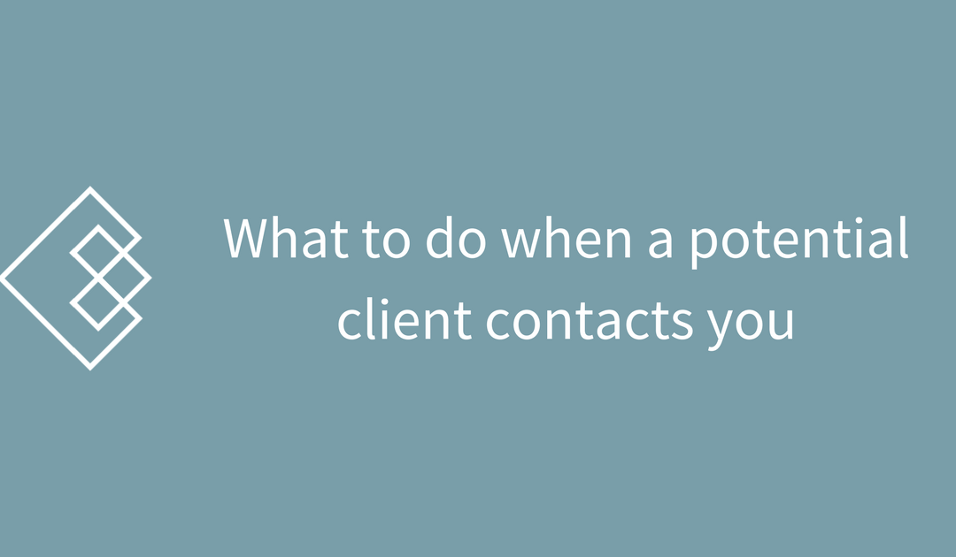 What to Do When a New Potential SEO Client Contacts You