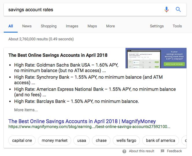 Exploring Google's New Carousel Featured Snippet