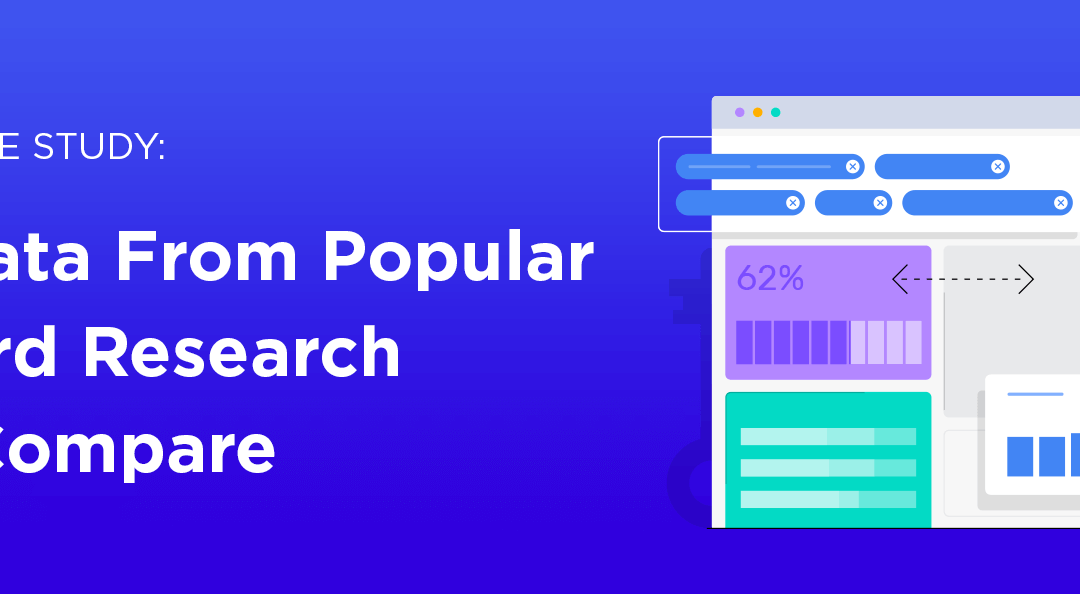 Large Scale Study: How Data From Popular Keyword Research Tools Compare