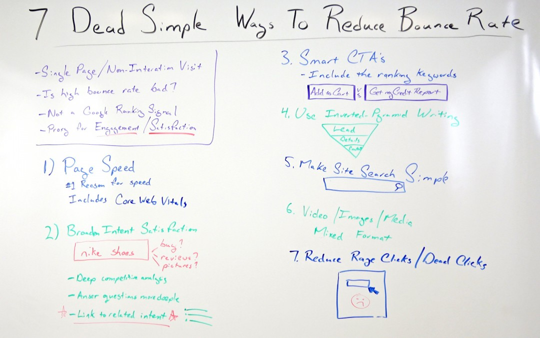 7 Dead Simple Ways to Reduce Bounce Rate